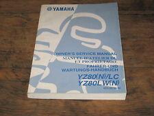 MANUEL REVUE TECHNIQUE D ATELIER YAMAHA YZ 80 (N)  2001 service manual