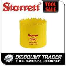 """Starrett 60mm / 2-3/8"""" Dual Pitch Professional Bi Metal Hole Saw KDH0238-E"""