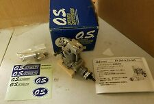 VINTAGE O.S. MAX FS 40S FOUR STROKE AIR PLANE MOTOR BRAND NEW OS