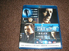 State of Play (Blu-ray Disc, 2009) SEALED