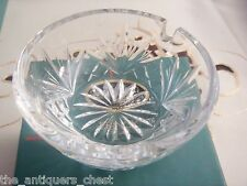 "Lenox ""Ashtray"" glass, NIB, around 3 1/2""[LX3]"