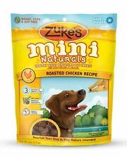 Zukes Mini Natural Healthy Moist Roasted Chicken Recipe Dog Training Treats 6z