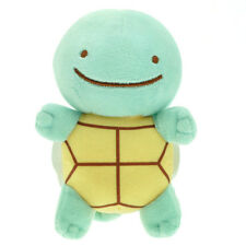 Transform Ditto Squirtle Pokemon Water Turtle Plush Soft Toy Stuffed Animal 5""