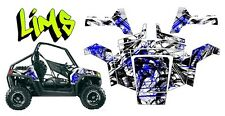 Polaris Rzr Lims Wrap Graphics Kit Toyskinz- 2008-2010 RZR-S, RZR4, Rzr 800