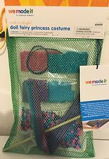 Make a Fairy Princess Outfit sized for American Girl Dolls Craft kit-tutu & wand
