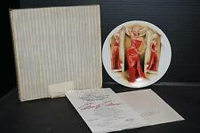 1992 Delphi Bradford Exchange Marilyn Monroe How to Marry a Millionaire Plate