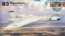 AV600 Avro Vulcan 83 Squadron RAF cover LAST Flight XH558 28 Oct 2015 #3
