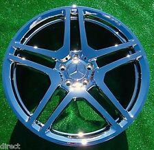 4 New Chrome OEM Factory AMG Mercedes Benz S65 20 in WHEELS S550 S63 CL550 CL63
