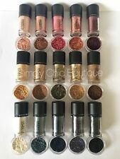 MAC Pigments *Pretty Rose Gold Glitter Whisper* Sample Lot of 15! 1/4tsp- 1.25ml