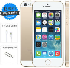 Apple iPhone 5S - 16 GB Gold White - (EE/Orange/T-Mobile) - Grade B