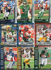 2015 Upper Deck CFL Football Master Set 1-200 All Shortprints Rookies