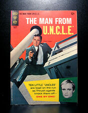COMICS: Gold Key: Man From U.N.C.L.E. #5 (1966) - RARE (batman/star trek/flash)