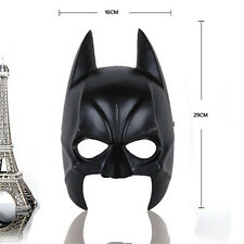Moive Charater Replica Black Batman Resin Mask Halloween Costume Prop Collection