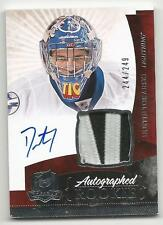 10-11 Dustin Tokarski The Cup Auto Rookie Card RC #147 Jersey Patch 244/249