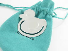 Tiffany & Co Silver RARE Super Adorable Duck Bookmark Book Mark!