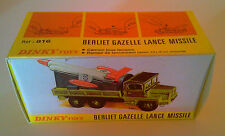 Boîte copie repro Dinky Toys 816 Camion Berliet Gazelle ( reproduction box )