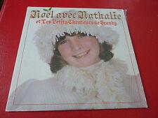 LP vinyl Album Nathalie Simard Noël Avec Petits Chanteurs ! Disques No.1 Records
