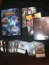 World of Warcraft TCG Boxed Card Lot