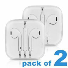 2X OEM Original Apple iPhone 5 6S EarPods W/Remote & Mic