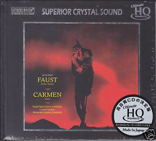 Gounod Faust Ballet Music/Bizet Carmen Suite Japan UHQCD Audiophile CD Numbered
