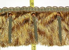 "Upscale Tassel Fringe-from Spain-5 1/2"" Brown/Rust/Gree"