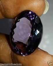 27.96 CT AMETHYST 100% Natural IGLI CERTIFIED Awesome Quality Gemstone