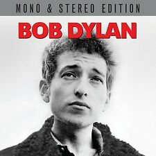 BOB DYLAN ~ CLASSIC DEBUT ALBUM IN MONO + STEREO NEW 2CD + BONUS TRACKS