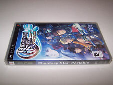 PHANTASY STAR PORTABLE - Sony PSP - UK PAL - NEW & FACTORY SEALED - VG COND RPG