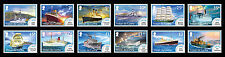 Tristan da Cunha 2015 Mail Ships NEW DEFINITIVES 12v set MNH