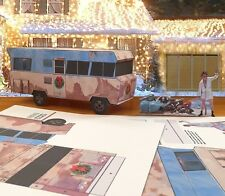 "Papercraft Christmas Vacation RV with Cousin Eddie  ""EZU-Make-it"" 1/27th scale"