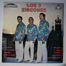 LOS 3 ZIRCONES LP Record COSMOS Mexico