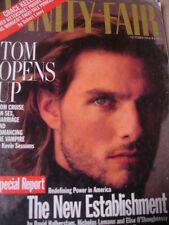 october 1994 Vanity Fair Tom Cruise cover + Heather Locklear + risque ads