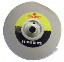 Hotspot 12mm x 25m Quality Glass Fibre Stove Rope For Sealing Stoves and Fires