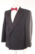 CHARLTON GREY BLACK TUXEDO EVENING DINNER MEN'S SUIT 38S DRY-CLEANED