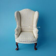 Sale 1:6 Dollhouse Miniature Furniture Dolls BJD Classic Striped Armchair Sofa