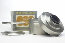 Honeywell Nikor 35mm stainless steel developing tank and reel