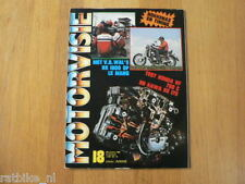 MV8218-POSTER HONDA V-FOUR,VF750C,KAWA KE175,RS1000