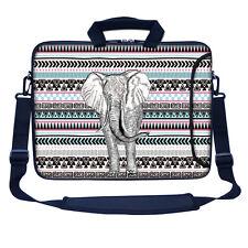 """17.3"""" 17"""" Neoprene Laptop Bag Sleeve with Pocket Shoulder Strap Handle 3107"""
