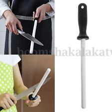 "8"" Ceramic Sharpening Rod Stick Sharpener with ABS Handle for Knife Blade Edge"