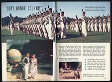 1956 TV ARTICLE~WEST POINT NEW YORK~U.S.MILITARY ACADEMY CADETS~ARMY~Bob Gothie