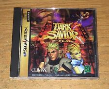 Dark Savior Sega Saturn Game Complete Fun Japan Import Games