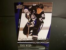 Rare James Wright Upper Deck Young Guns 2009 Card #243 Tampa Bay Lightning NHL