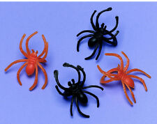 30 Halloween Spider Rings Favours loot fillers trick or treat gifts Party Prizes