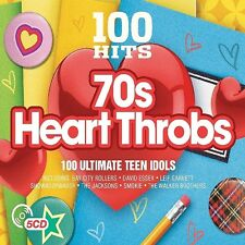 100 HITS-70'S HEART THROBS (THE JACKSONS, LEIF GARRETT,...) 5 CD NEU