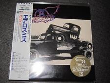 AEROSMITH pump JAPAN MINI LP SHM CD +INNERSLEEVE 24BIT Serial No 5000copy LTD SS