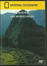 DVD - LE MYSTERE DES MOMIES INCAS / DOCUMENTAIRE /NATIONAL GEOGRAPHIC COMME NEUF