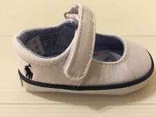 NIB RALPH LAUREN LAYETTE BABY SANDY MARY JANE SNEAKER INFANT GIRLS SHOES 2 WHITE
