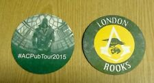 OFFICIAL ASSASSINS CREED SYNDICATE COLLECTORS PROMO ROOKS COASTERS / BEER MATS