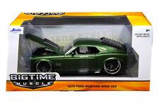 Jada Ford Mustang Boss 429 1970 Green 1/24