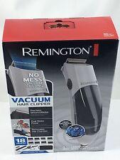 Remington Vacuum Hair Cut Trimmer 18 Piece Kit Clippers Haircut Barber Set White